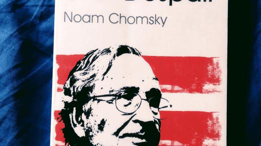 Noam Chomsky Optimism over Despair immagine principale