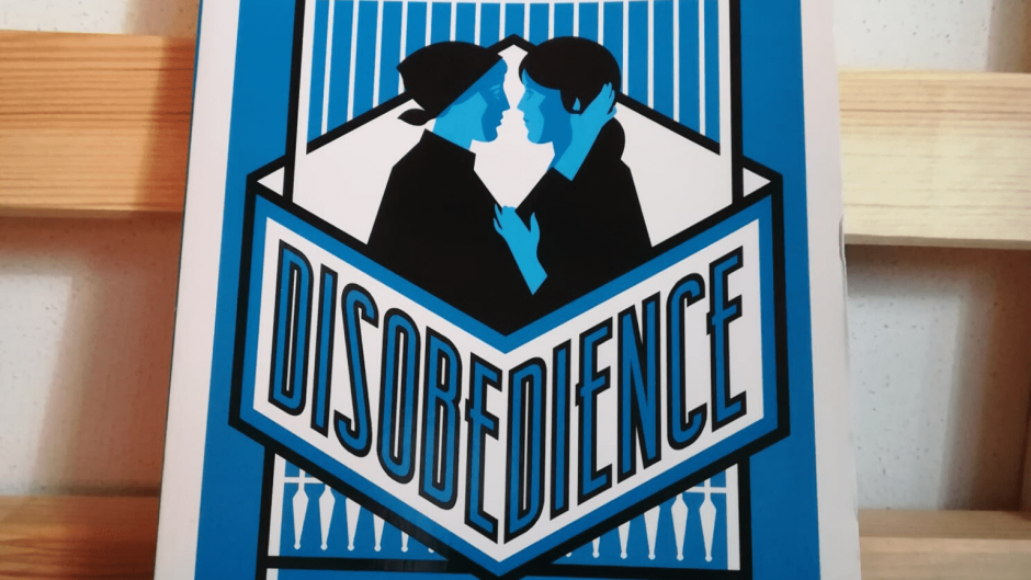 Disobedience Naomi Alderman TBE