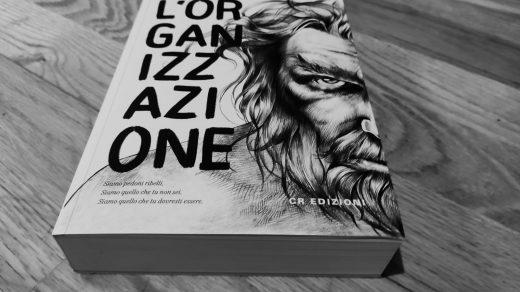 Organizzazione Copertina romanzo CR Edizioni