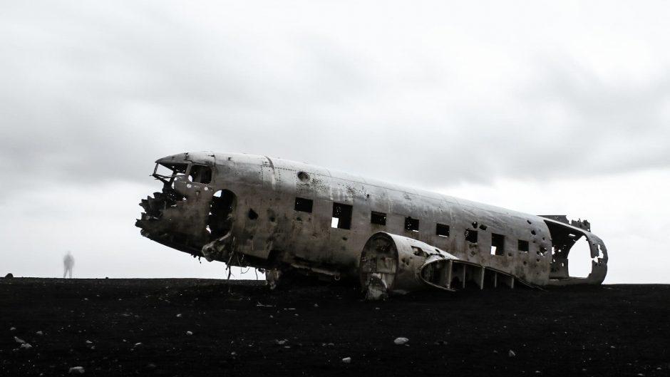 islanda aereo americano precipitato 60 secondi più grandi di te