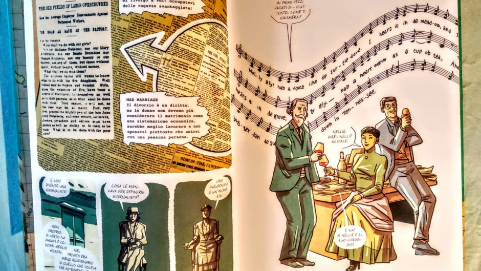 luciana cimino nellie bly graphic novel