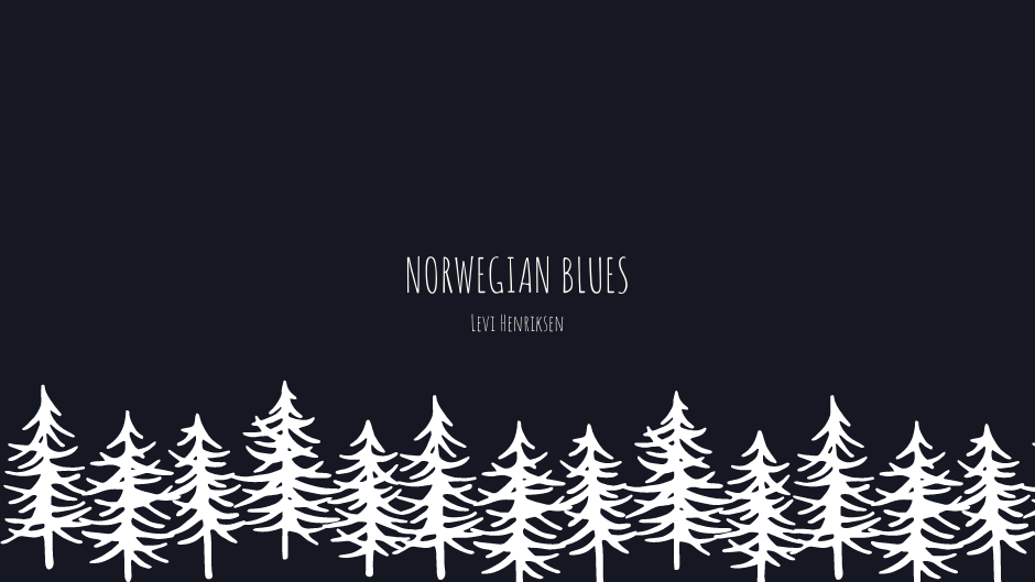 Norwegian Blues Levi Henriksen iperborea recensione